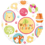 "18"" Winnie the Pooh Welcome Little One Foil Balloon"